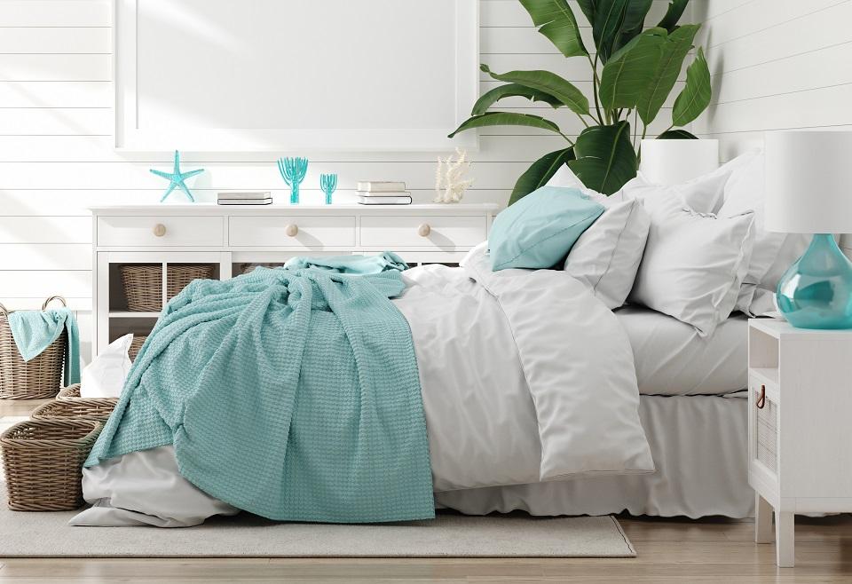 Créez une ambiance bord de mer dans votre chambre à coucher